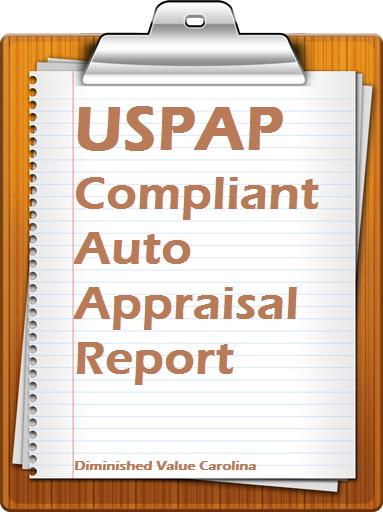 USPAP Compliant Auto Appraisal Report