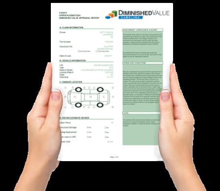 Diminished-Value-Carolina-Appraisal-Report